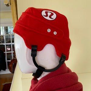 Lululemon Fleece Hockey Helmet Toque